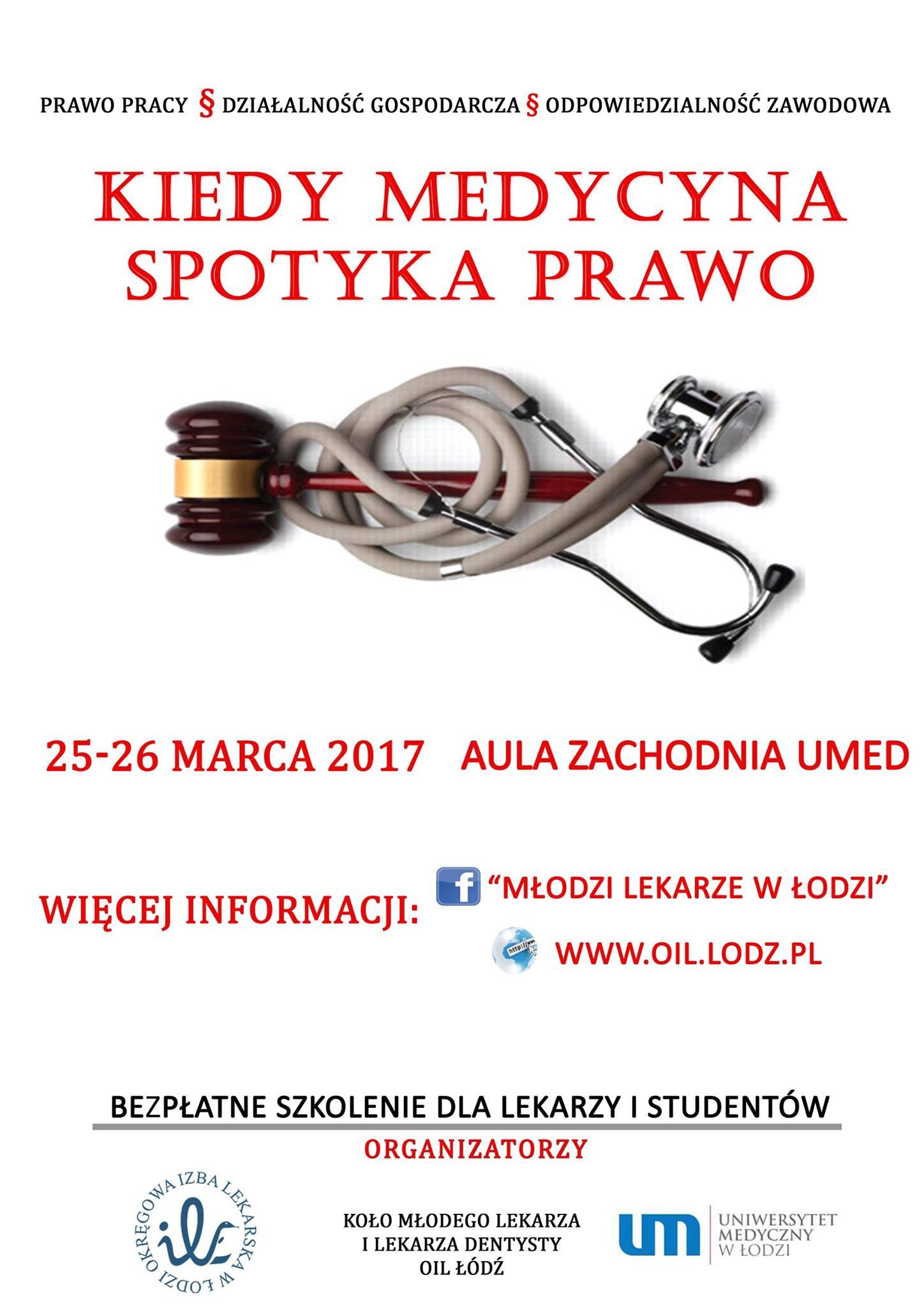 Plakat szkolenie Prawne